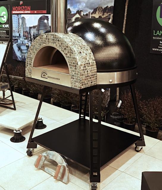 My-Chef black pizza oven