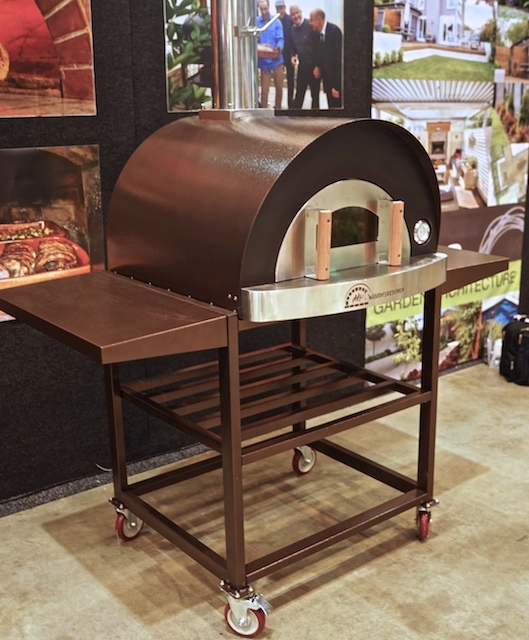 pizza oven My-Buddy copper colour
